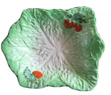 Antique Beswick Ware No 6 217 Lettuce And Tomato Dish 9 By 7 Inches Approx Clean