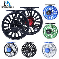 AVID Fly Fishing Reel 1/2/3/4/5/6/7/​8/9/10WT CNC Machined Aluminum Mid Arbor