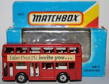MATCHBOX SUPERFAST Londres bus Leyland Titan/code 3/dans neuf dans sa boîte