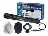 XM-CS Professional Condenser Shotgun Video & Broadcast XY Microphone Kit for SLR
