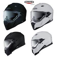 Caberg Stunt Full Face Motorbike Helmet Sun Visor & Track Visor Option