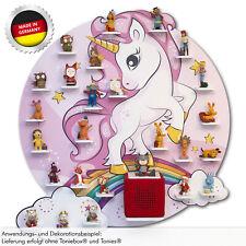 Tonieregal Einhorn Unicorn für Toniebox® und Tonies® oder Musikbox - magnetisch