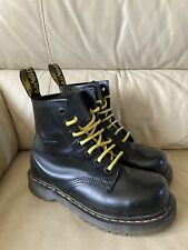 Womens Doc Martens Pascal Black Size 4 Boots Steel Toe Caps