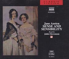 [AUDIO BOOK] 3CD: SENSE AND SENSIBILITY: JANE AUSTEN: READER JULIET STEVENSON
