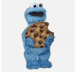 "Sesame Street Peekaboo Cookie Monster Talking 13"" Plush Toy Toddlers 18mos"