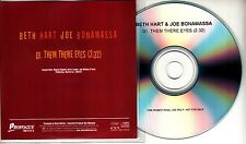 BETH HART & JOE BONAMASSA Them There Eyes 2013 Dutch 1-track promo test CD