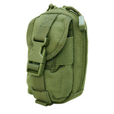 Tactical Molle Pouch Ipouch Iphone Blackberry Camera Case Cover Pouch-OD GREEN
