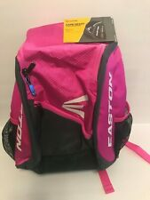 Easton Gameday Youth Softball Backpack Batpack New Pink/Black Unisex