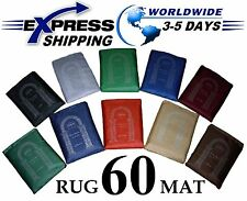 Lot 60 Different colors Pocket Prayer Rug Mat Travel portable Islamic Musallah