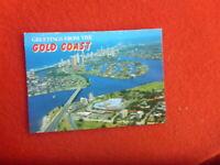 GREETINGS GOLD COAST  QLD AUSTRALIA POSTCARD  UNUSED AERIAL