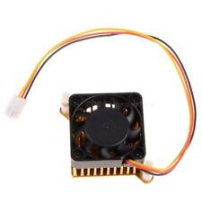 59mm Cooling Fan Heat Sink for PC Motherboard North South Bridge Gold 12V HYSG