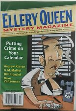 Ellery Queen Mystery Magazine Mar Apr 2017 Crime On Calender FREE SHIPPING sb