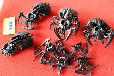 Games Workshop Warhammer 40k Necron Canoptek Spyder x4 Spyders Necrons Army