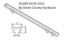 Campervan Motorhome Silent Gliss 1012 Curtain Track 1.3 mtr Concealed Top fix