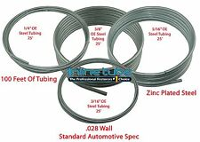OE Automotive Steel Brake Fuel Trans Line Tubing 3/16 1/4 5/16 3/8 25ft Coil