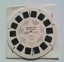 View Master  Reel  A7024  Franconia Notch  1950s  Old Man of the Mountain