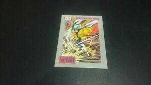 IMPEL MARKETING 1991 DC COMICS SUPERHEROES FIREHAWK #49 (VG)