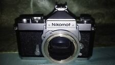 NIKON NIKOMAT FT, 367213, CAMERA BODY ONLY, Made in JAPAN, WORKS GREAT!