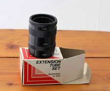Macro Extension Tube Rings Set of 3 for Automatic M42 Screw Mount, 11, 20 & 30mm