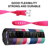 Fitbit Charge 2 Band 10 Pack Small Elegant Silicon Replacement Wristband Strap