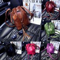 Fashion Women's Handbags Shoulder Bags Tassel Messenger Hobo Bucket Bag Satchel