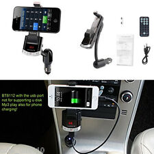 Car Bluetooth Cell Phone Mount Holder Stand Bracket With Handsfree Calling,USB
