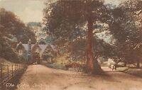BR101395 the lodge cockington  uk