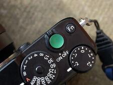 Selens Shutter Button Soft Release Metal Concave Green Fuji X-T2 XE2 XPro1 XPro2
