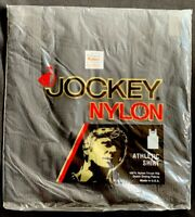 JOCKEY Nylon Athletic Shirt Ribbed XL 46-48 New Vintage Tank Top Black