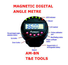 Magnetic Digital Angle Meter Attach To Torque Wrench Hand Tools T&E TOOLS AM-BN