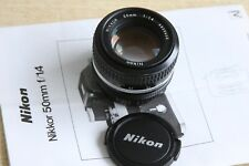 Nikon Nikkor 50mm 1,4 MF