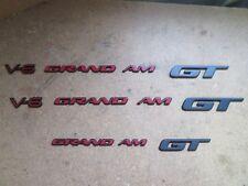 1996 1997 1998 1999 2000 2001 2002 PONTIAC GRAND AM GT BODY SIDE EMBLEMS RAT ROD