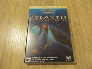Atlantis: The Lost Empire ~ Deluxe Two Disc Set | Region 4 DVD | Free Postage