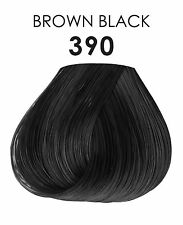 Adore Plus Extra Conditioning Semi Permanent Color 390 Brown Black 100ml