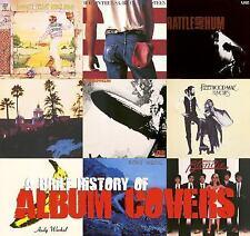 A Brief History of Album Covers (Art & Design) by Jason Draper, Foreward by Pau