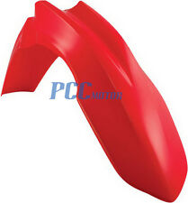 RED FRONT FENDER PLASTIC CRF250 CRF250R CRF450 M CRF450-FRONTFENDER M PS55-R