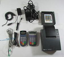 Verifone Tranz 380 Printer 900 PinPad 1000Se Credit Card Terminals Cords