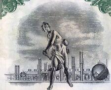 The Superior Oil Company Bond Stock Certificate Gas California Exxon