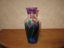 *NEW* Vase bleu flamme H.26cm
