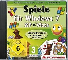 SPIELE FÜR WINDOWS 7, XP & VISTA (PC) - NEU & SOFORT