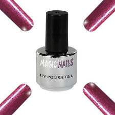 UV Polish Soak Off Gel Nail Art Nagellack Farbe # Raspberry