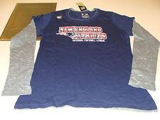 2012 NFL Ladies Women New England Patriots L Challenge Met Two-fer T Shirt