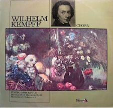 WILHELM KEMPFF cuatro impromptus/berceuse/barcarola/nocturno CHOPIN LP 1972 EX++