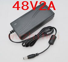 AC 100V-240V Converter Adapter DC 48V 2A 96W Power Supply Charger DC 5.5mm New