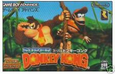 SUPER DONKY KONG Gameboy Advance GBA Import Japan DONKEY