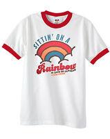 Official John Prine Sittin' On A Rainbow In Spite Of Ourselves Ringer Shirt (XL)