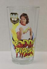 Roddy Piper WWE Legends 16 oz. Pint Glass 'TOON TUMBLER NEW!!