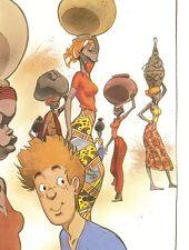 Frank ex libris Broussaille Afrique 150  ex Signé