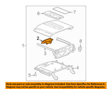 GM OEM Center Console-Latch 22861304