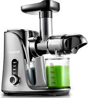 Juicer Machines Slow Masticating Juicer Extractor Cold Press Juicer With Bottles